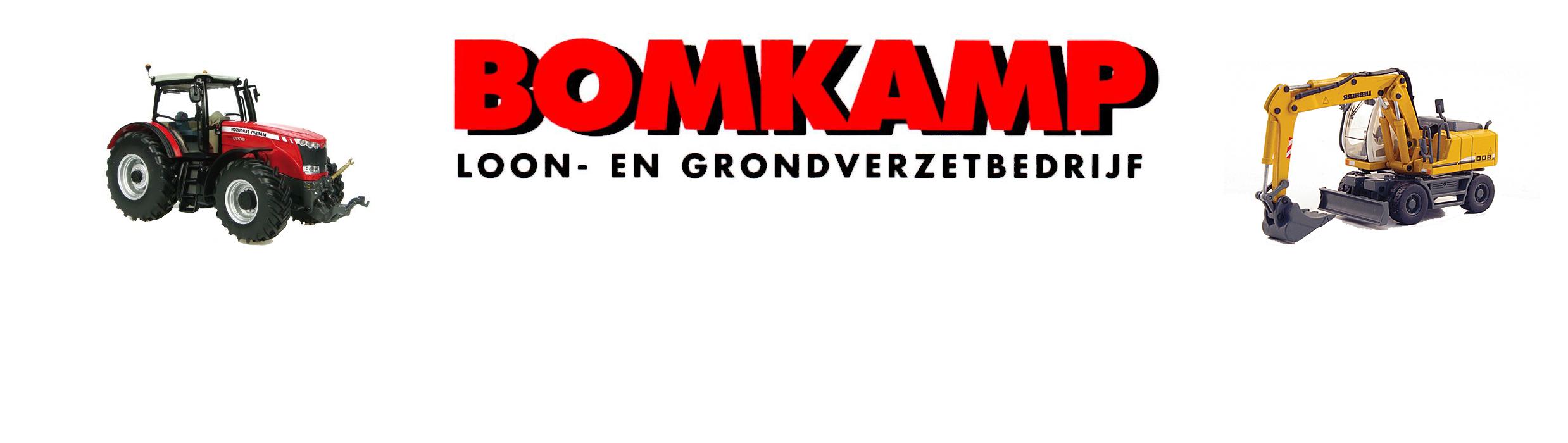 Loon en grondverzetbedrijf Bomkamp